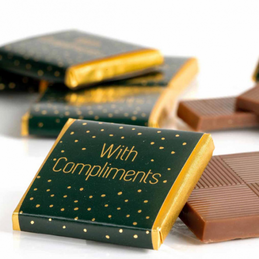 Рекламни шоколадчета neopolitans