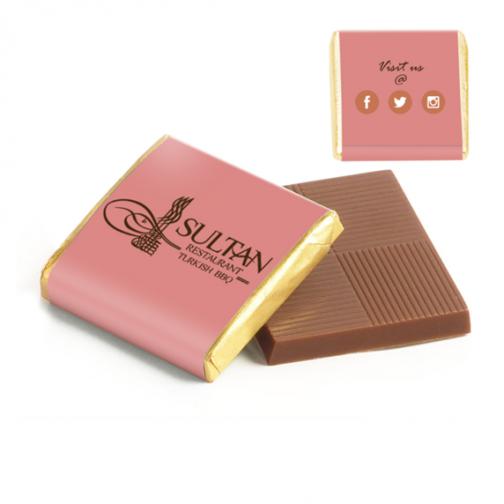 Фирмени рекламни шоколадчета