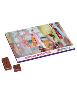 Календар с шоколадчета