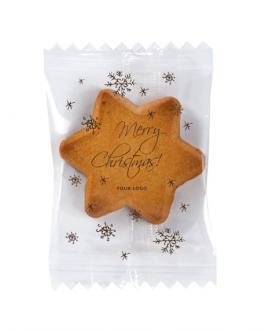 Коледна бисквитка Звезда