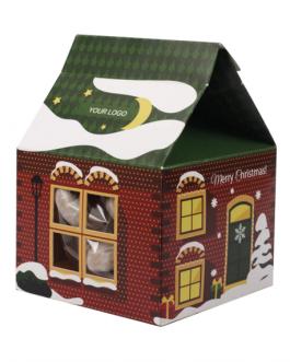 Коледна кутия със сладки