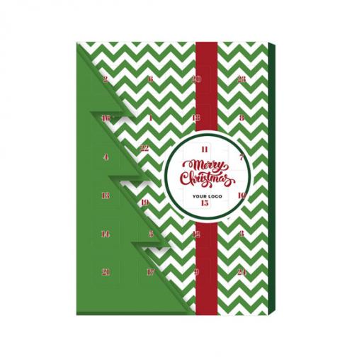 Коледен адвент календар по индивидуален дизайн