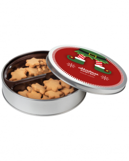 Кутия с джинджифилови бисквити
