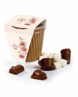 Топъл шоколад в рекламна чаша
