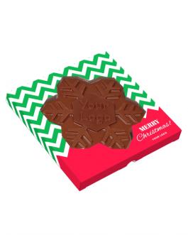 Шоколад Снежинка с Вашето лого