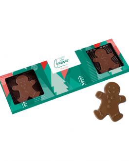 Кутия с шоколадови човечета