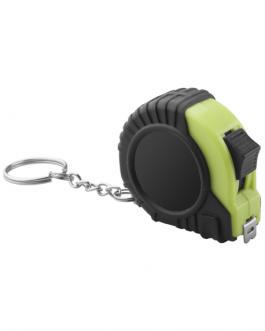 Ролетка 2 м с ключодържател-зелен цвят