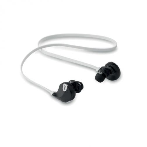 Безжични слушалки с микрофон-бял цвят