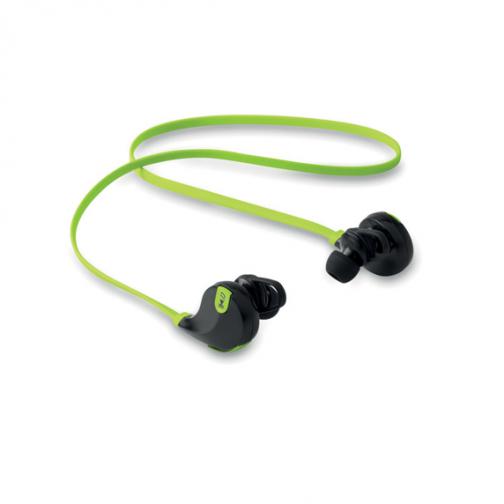 Безжични слушалки с микрофон-зелен цвят