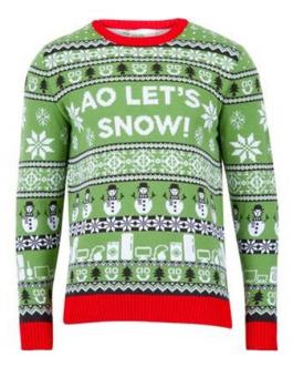 Фирмен коледен пуловер