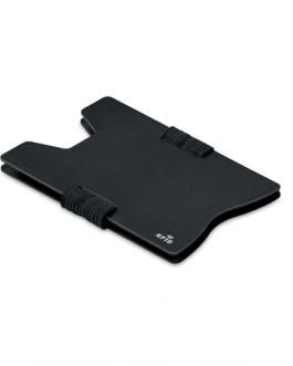 RFID алуминиев протектор за карти-черен цвят