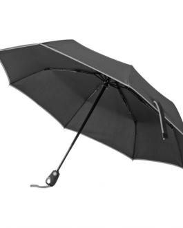 Автоматичен сгъваем чадър-сив цвят