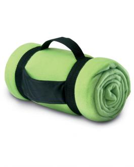 Рекламно одеяло за туризъм-зелен цвят