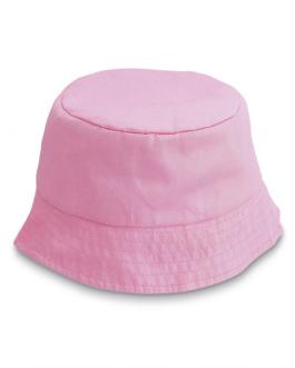 Лятната детска рекламна шапка-розов цвят