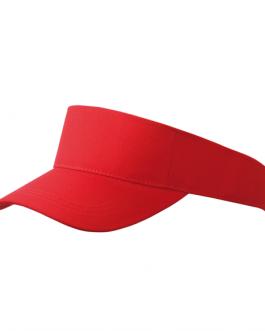 Класическа рекламна козирка-червен цвят
