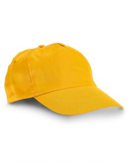 Лятна промоционална шапка-жълт цвят