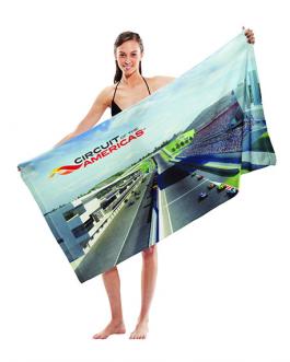 Рекламна плажна кърпа