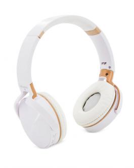 3.0+EDR безжични слушалки-бял цвят