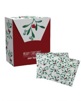 Коледна кутия с чай по индивидуален дизайн