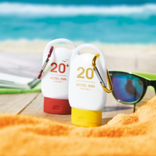 Летен рекламен слънцезащитен крем