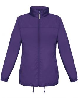 Дамска ветровка-лилав цвят