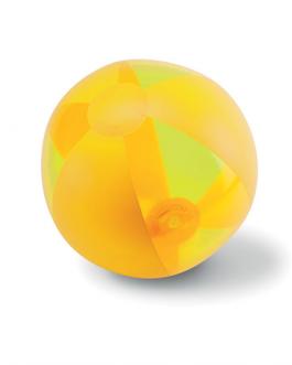 Рекламна плажна топка-жълт цвят