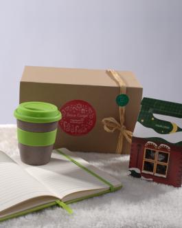 Коледен комплект с еко чаша