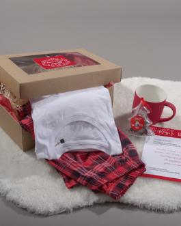 Коледен комплект с пижама