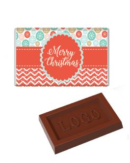 Коледно шоколадче с лого