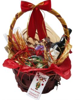 Коледна кошница Весел Празник