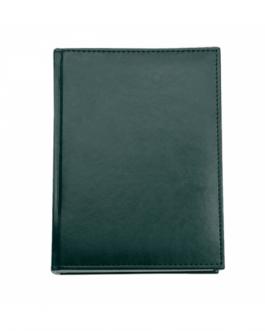 Бележник с дати А5 CAPRIS-зелен цвят