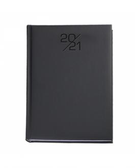 Бележник с дати А5 NUVOLA-черен цвят