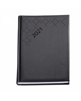 Бележник с дати А5 VIVELA-черен цвят