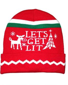 Плетена зимна рекламна шапка