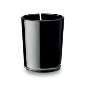 Ароматна свещ в чаша-черен цвят