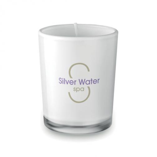 Ароматна свещ в чаша с лого