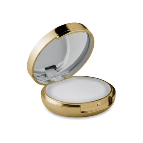 Балсам за устни и огледало-старо злато металик цвят