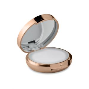 Балсам за устни и огледало-светло злато металик цвят