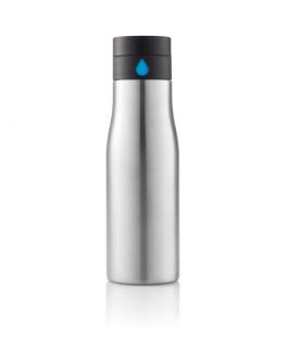 Смарт метална бутилка-сребърен цвят