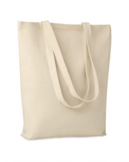 Рекламна плътна, памучна пазарска чанта