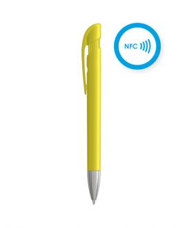 Химикалка с NFC TAG-жълт цвят
