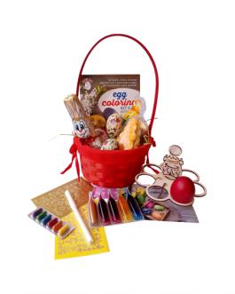 Великденска креативна кошница