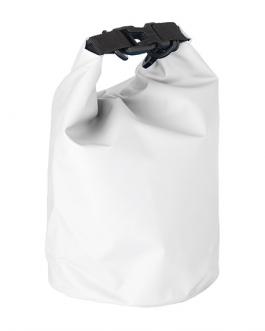 Малка водоустойчива чанта-бял цвят